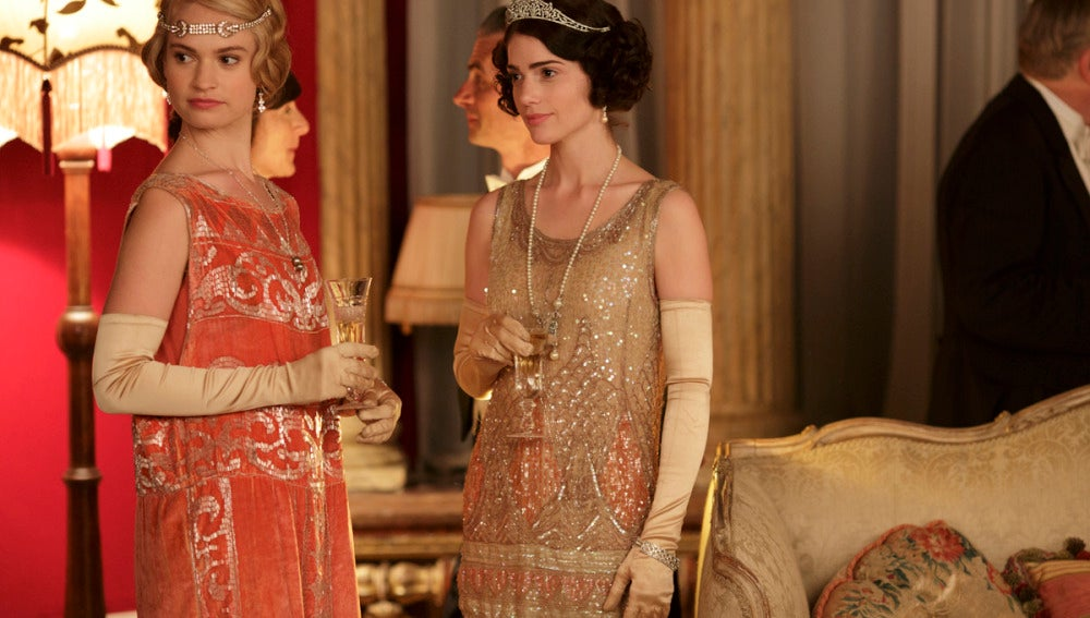 Lady Edith y Lady Mary