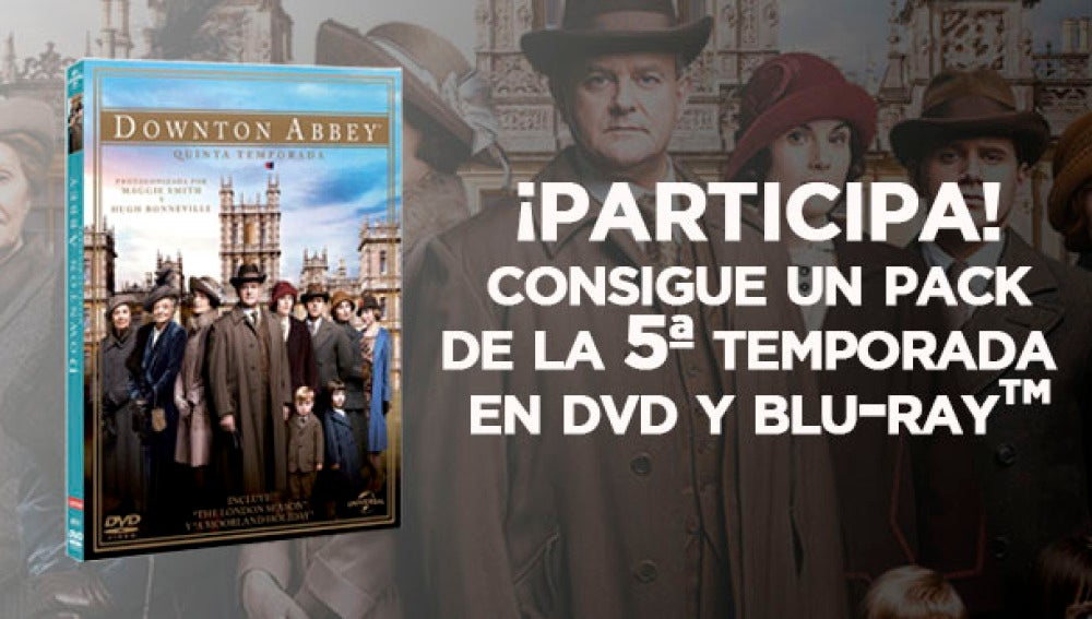 5ªTemporada de Downton Abbey en DVD