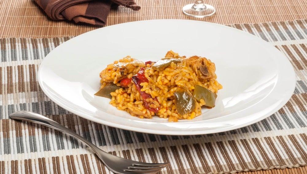 Meloso arroz campero
