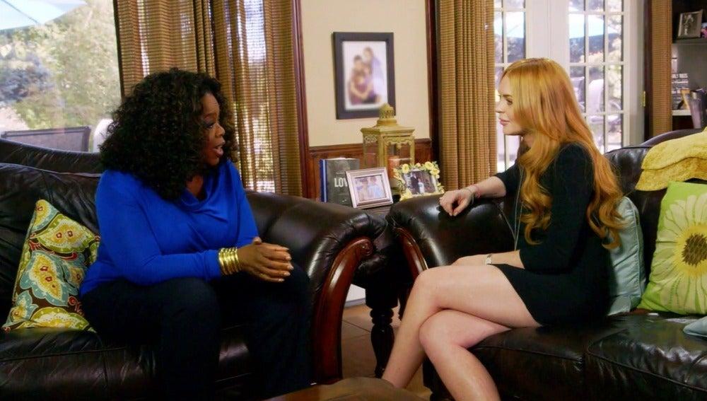 Lindsay y Oprah