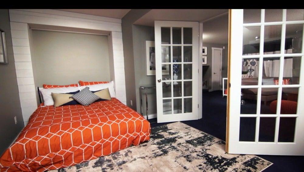 Una nueva habitación de invitados