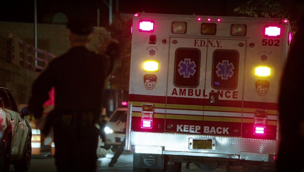 Ambulancia a la fuga