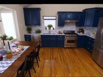 Cocina y salón más amplios y luminosos