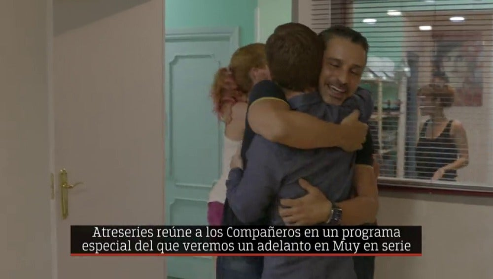 Frame 9.155467 de: 'Compañeros' se reencuentran en 'Muy en serie'