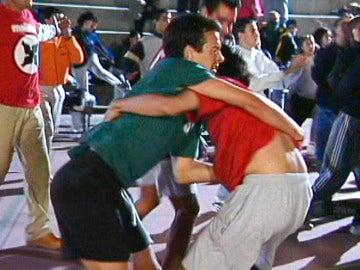 Quimi se pelea con los alumnos del Silvano