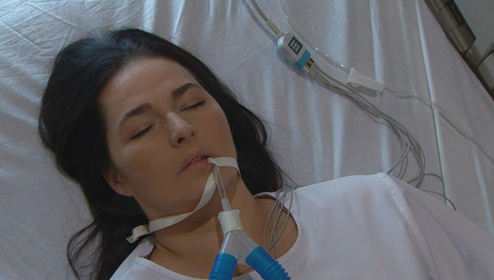 Marissa hospitalizada