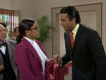 Lety y Fernando se reencuentran en los juzgados
