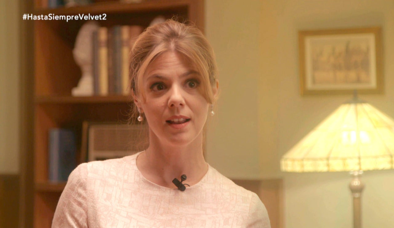 """Manuela Velasco: """"Cristina no ama a Alberto, está obsesionada con él"""""""