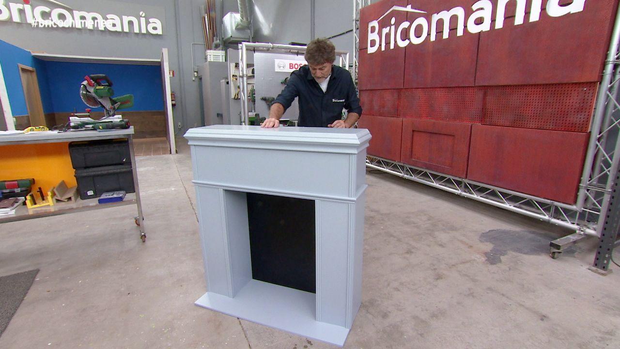 C mo hacer una chimenea decorativa nova tv - Hacer chimenea decorativa ...