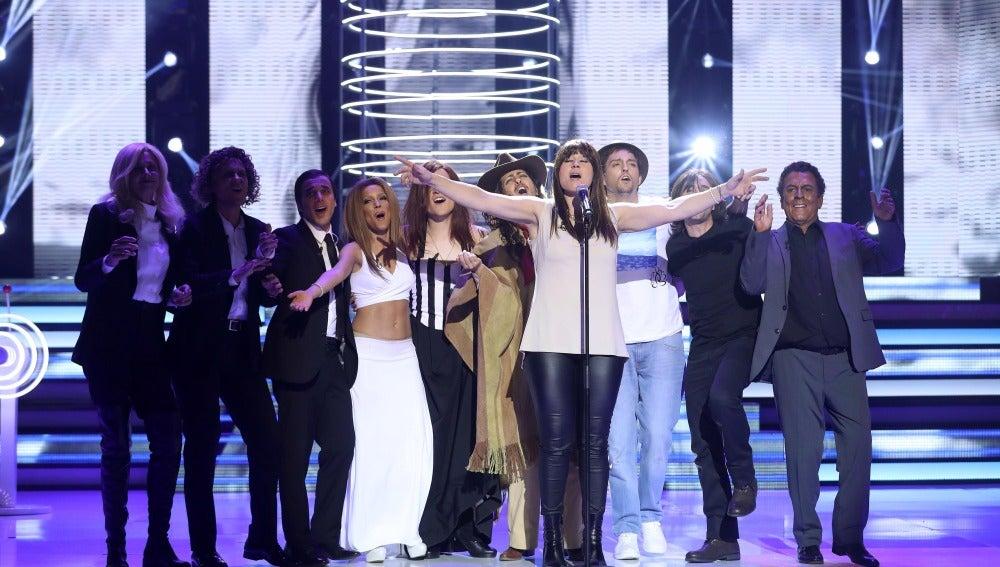 Rosa López triunfa en la undécima gala como Vanesa Martín haciendo feliz a todos los espectadores