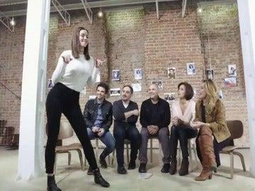 Frame 22.540452 de: Dafne Fernández se atreve con su primera coreografía en UPA