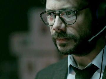 """El Profesor en shock ante el ataque de la inspectora Murillo: """"Se han quedado sin plan B"""""""