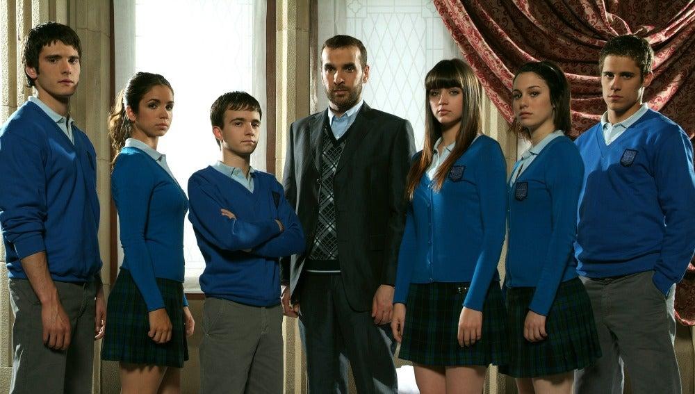 Protagonistas de 'El Internado'