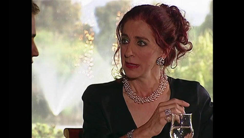 """""""Soy espléndida con los jóvenes que me gustan. Tú me enloqueces Franco Reyes"""""""