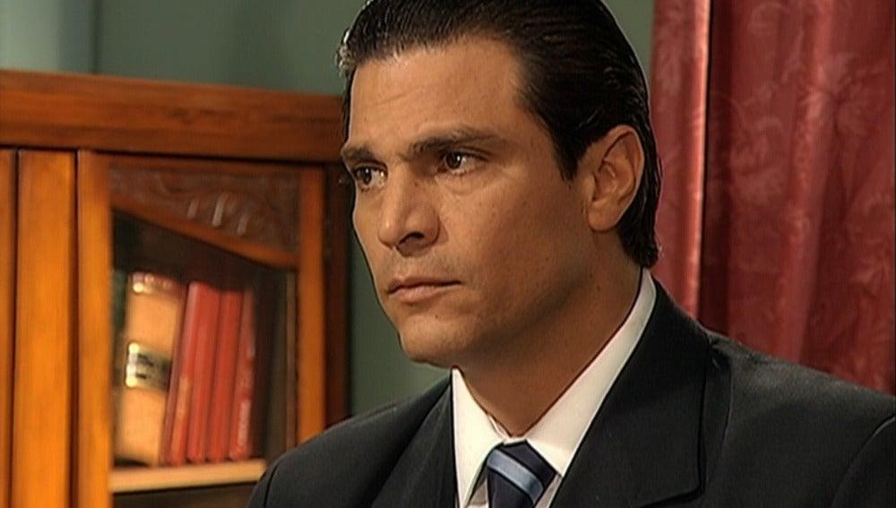 Lucho y Reyes ocultan a Ignacio la verdad sobre su hijo