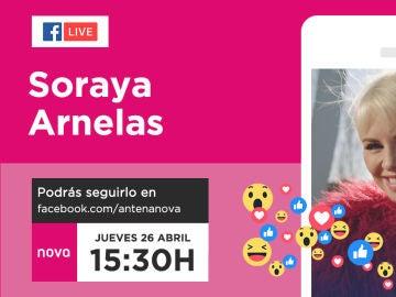 Facebook live con Soraya