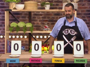 Mathías se hace con la victoria sin que David de Jorge pruebe ninguno de los platos