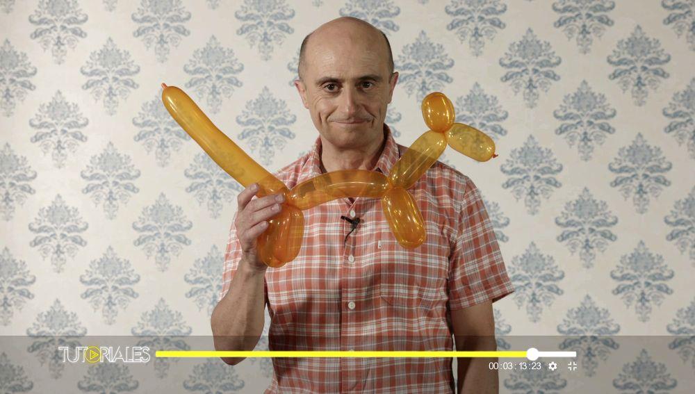 Pepe Viyuela te enseña a hacer un perro con globoflexia