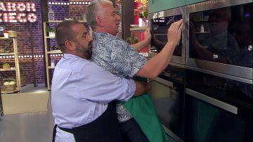 Óscar Terol hace una tortilla francesa al microondas