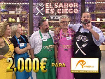 David Fernández gana la segunda edición de 'El sabor es ciego VIP'