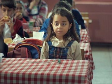 la pequeña Melek