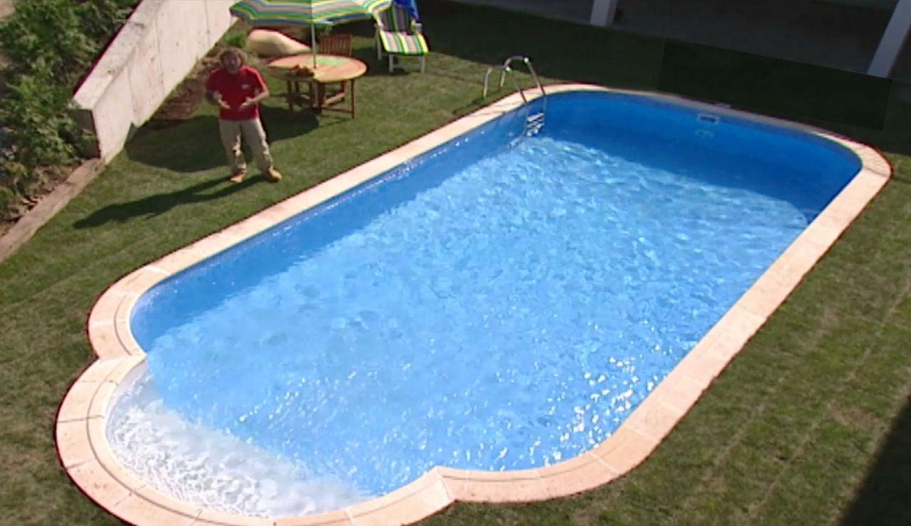 La construcción de una piscina