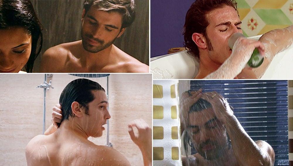 El mejor remedio contra el calor: Los protagonistas de Nova se mojan en nuestras telenovelas