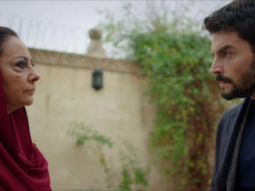 Azize planea mandar lejos a su familia a espaldas de Miran