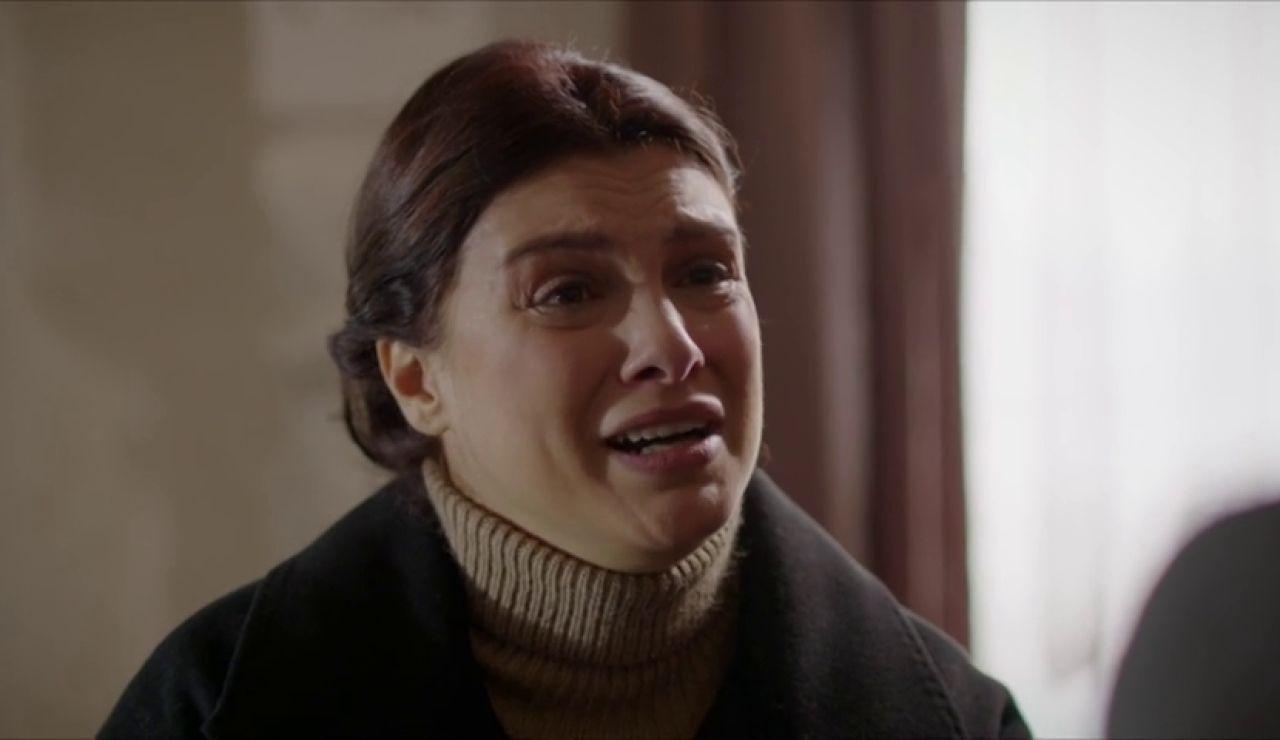Zehra irrumpe en la mansión Aslanbey, ¿qué es tan urgente?