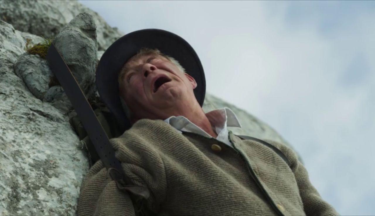 Franz queda suspendido al borde de la muerte