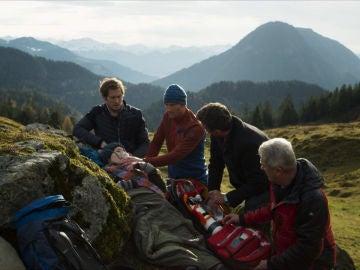Emergencia en la montaña
