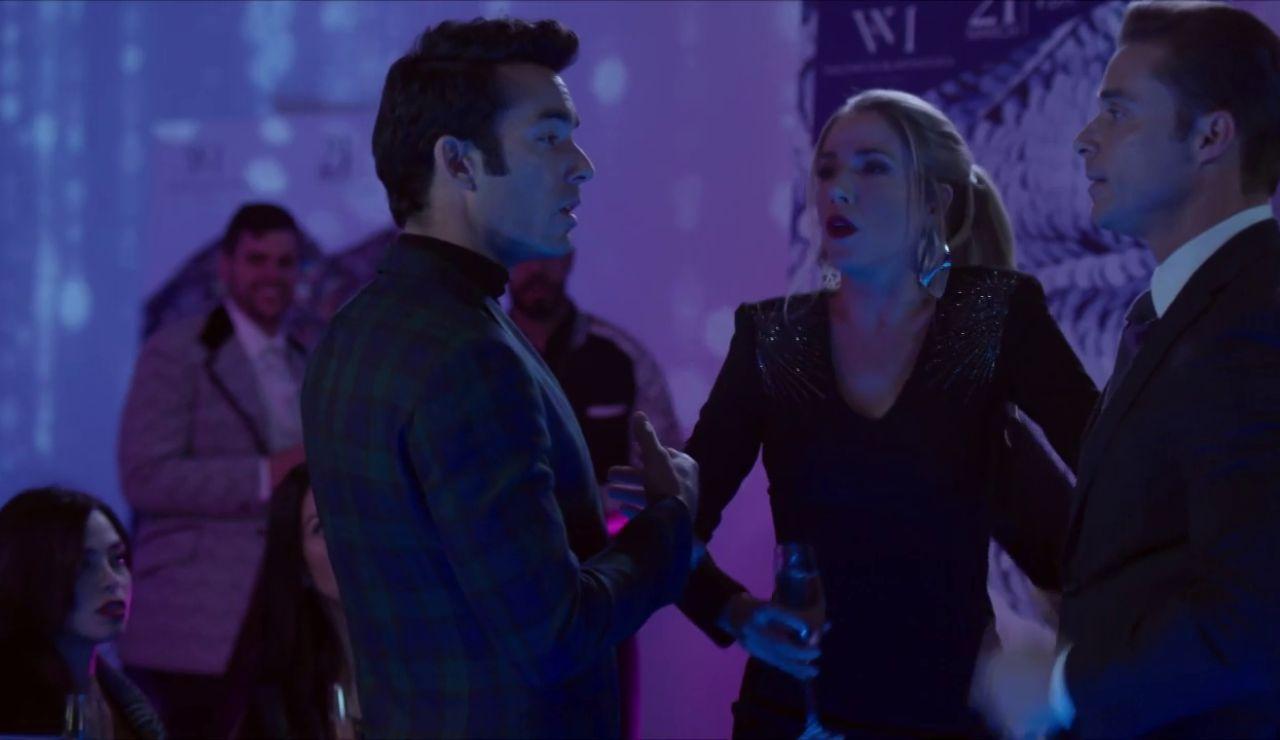 Daniel y Ricardo se pelean por Patricia