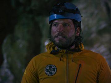 El equipo de 'Rescate en los Alpes' queda atrapado en una cueva