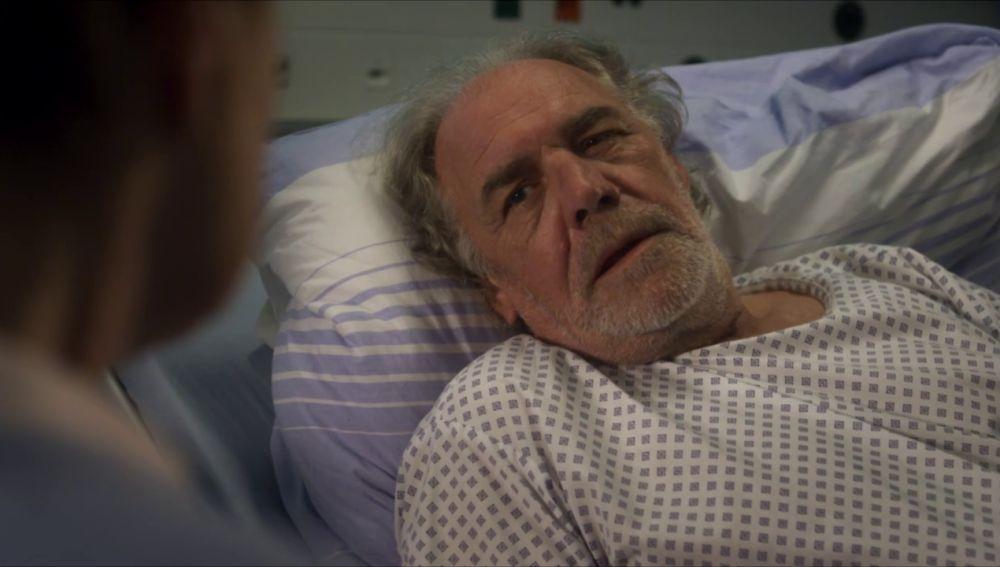 ¿Cuál es el estado de salud de Ludwig, el tío del Dr. Gruber?