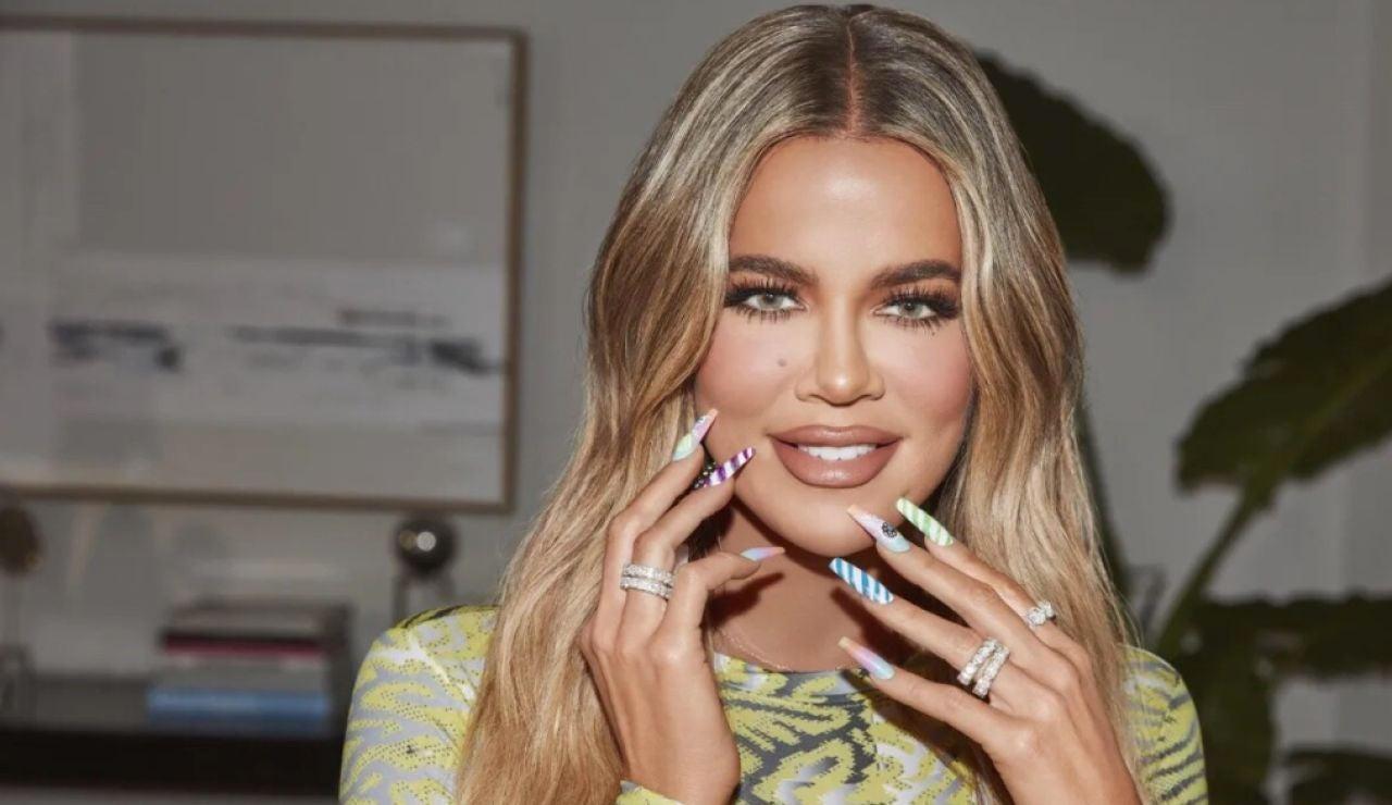 Uñas de caramelo para Khloé Kardashian