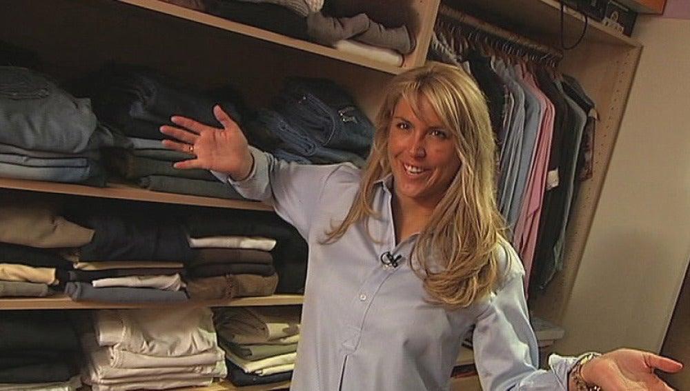 Patricia nos enseña su armario