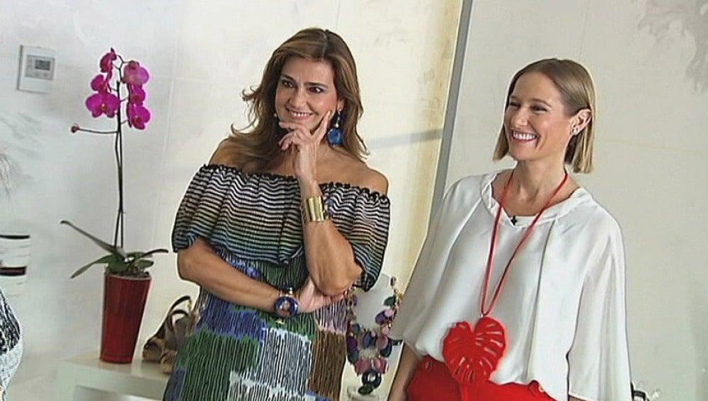 Fiona y María Danko asesoran a María