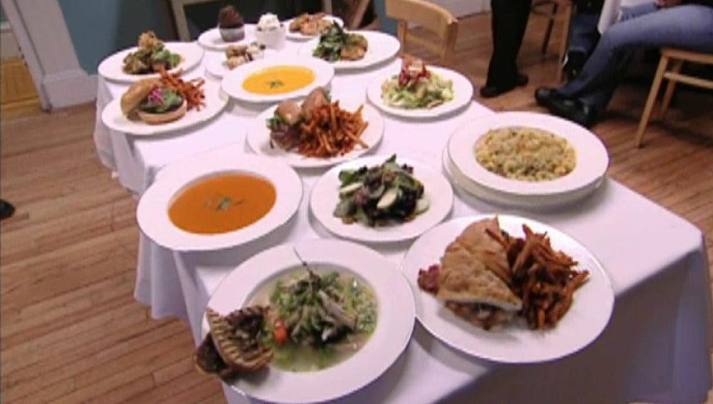Nuevo menú, Programa 18, Pesadilla en la cocina
