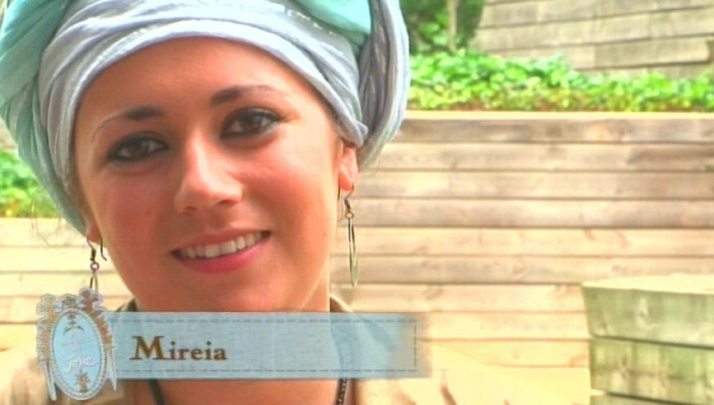 Un look africano para Mireia