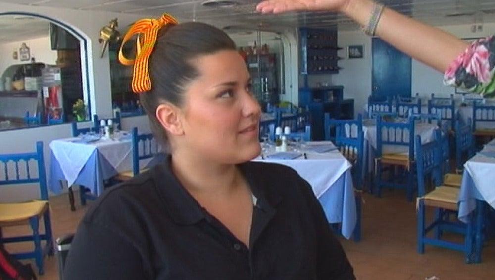 Ruth, camarera de Quesada de Gavá