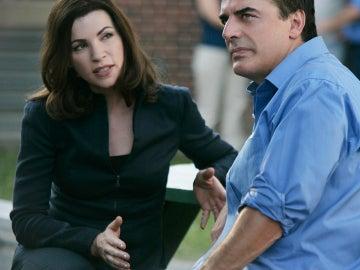 Alicia y Peter Florrick