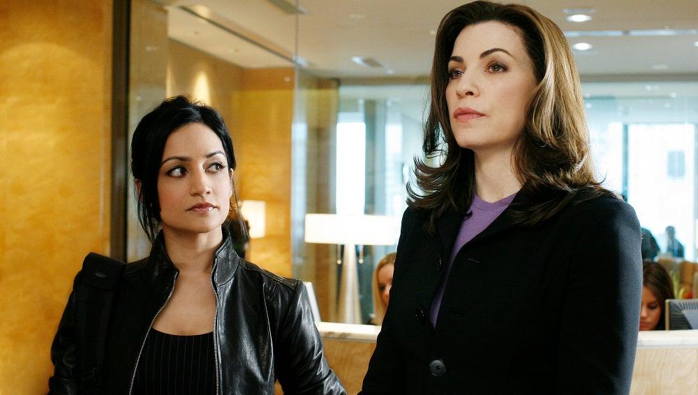 Alicia Florrick y Kalinda Sharma