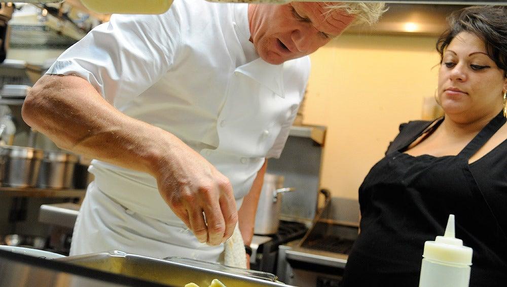 Una chef con mano de hierro