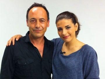 Lorena Mateo y Carlos Navarro