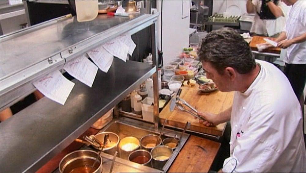Caos en la cocina de El Bistro