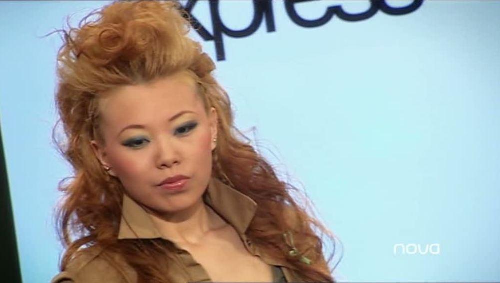 Ying es la ganadora del día en Model Express