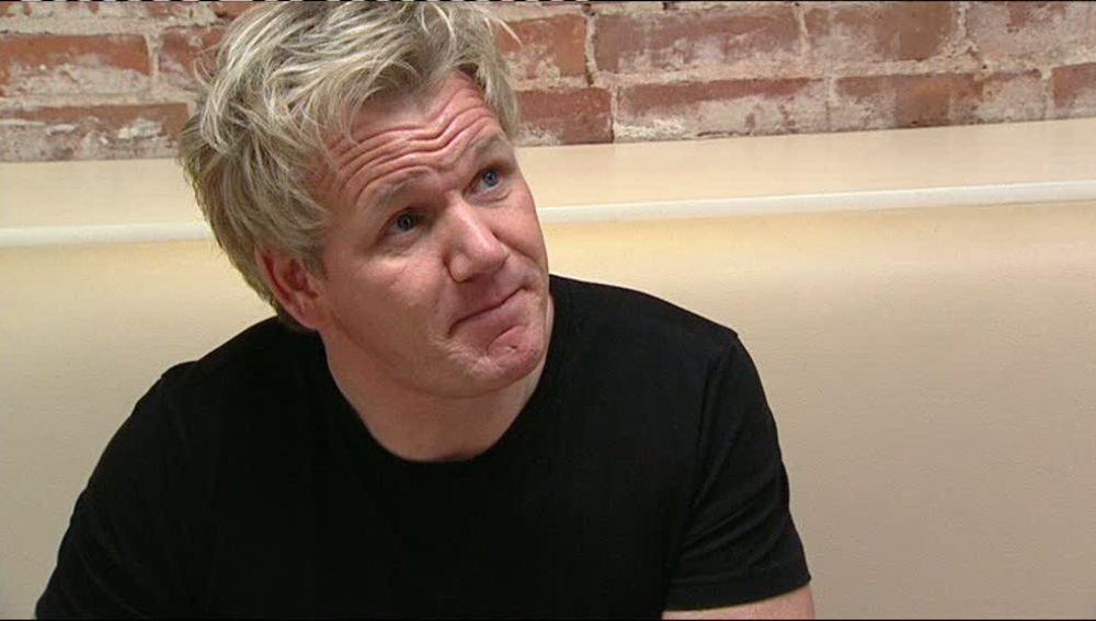 Gordonn  degusta los platos de la carta