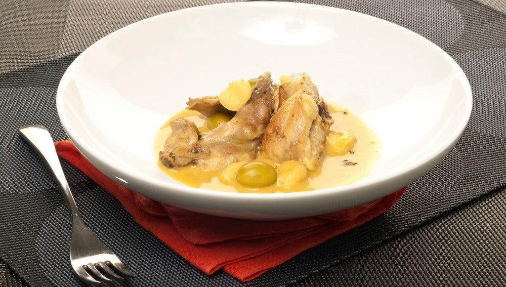 Curry casero de conejo