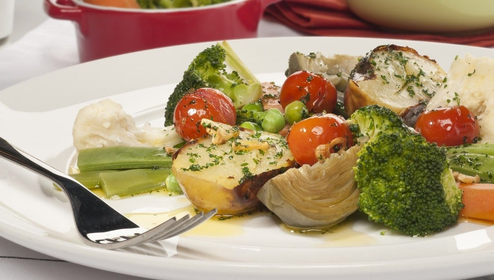 Panaché de verduras de primavera