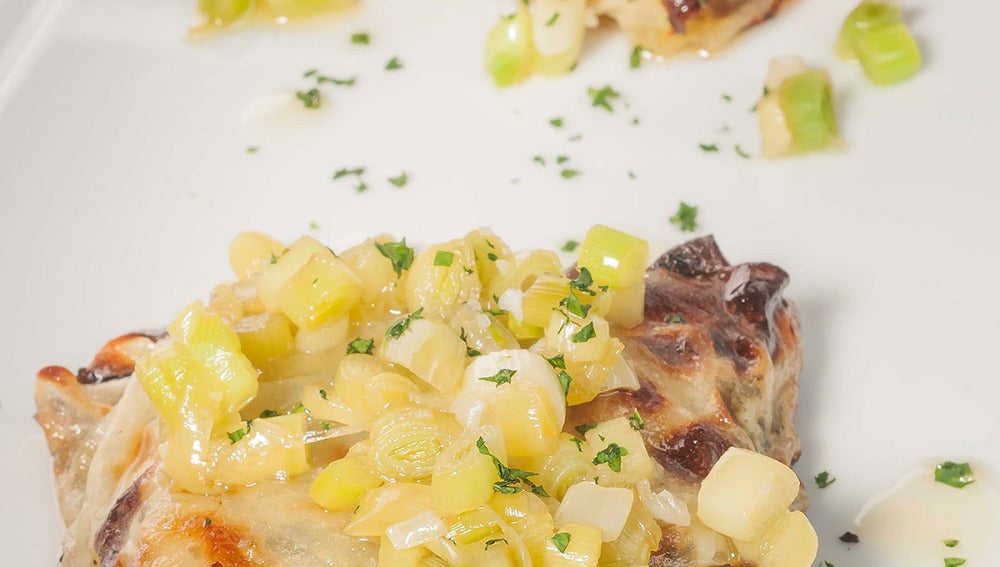 Paquetitos de patata con bacalao